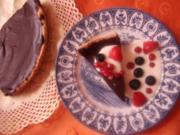 Schokoladen-Beeren-Tarte - Rezept