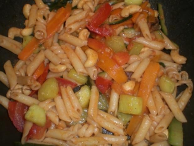 4-Gemüse(-Nudel)-Pfanne - Rezept - Bild Nr. 2