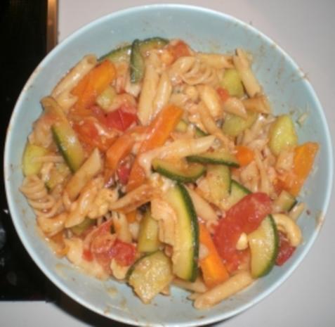 4-Gemüse(-Nudel)-Pfanne - Rezept - Bild Nr. 3