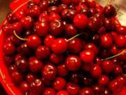 Süßkirschkonfitüre mit Herring Original Cherry Liqueur - Rezept