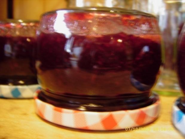 Marmelade Kirsch - Zitronenmelisse - Vanille - Rezept - Bild Nr. 7