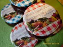 Marmelade Kirsch - Zitronenmelisse - Vanille - Rezept