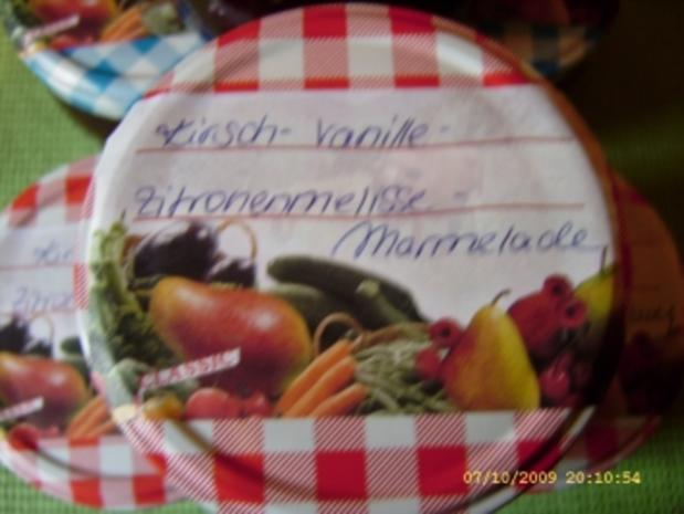 Marmelade Kirsch - Zitronenmelisse - Vanille - Rezept - Bild Nr. 9