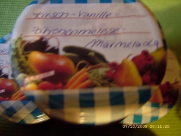 Marmelade Kirsch - Zitronenmelisse - Vanille - Rezept - Bild Nr. 10