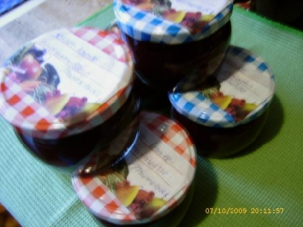 Marmelade Kirsch - Zitronenmelisse - Vanille - Rezept - Bild Nr. 11
