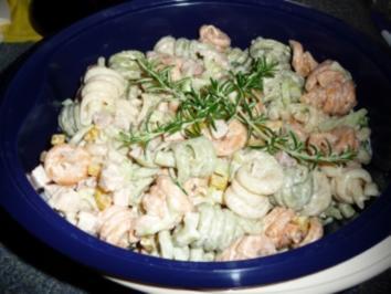 """Bunte Nudeln""-Salat - Rezept"