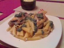 Pasta green Chicken - Rezept