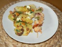 Kartoffel-Möhrenauflauf - Rezept