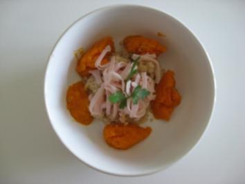 Babymenü: Couscous mit Schinken und Karotten - Rezept