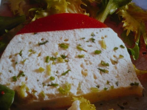Forellen - Quark - Terrine mit Tomatenhaube - Rezept - Bild Nr. 2