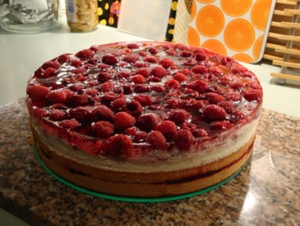 Himbeer Mascarpone  Torte / Muttertagskuchen
