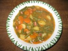 Grüner Bohneneintopf - Rezept