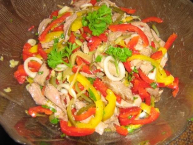 Rindfleischsalat vom Steak - Rezept - Bild Nr. 2