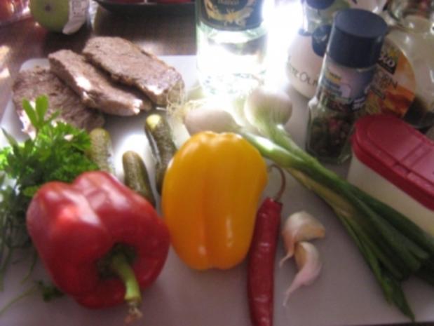 Rindfleischsalat vom Steak - Rezept - Bild Nr. 3