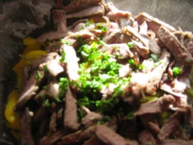 Rindfleischsalat vom Steak - Rezept - Bild Nr. 9