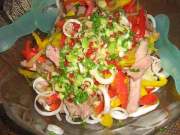 Rindfleischsalat vom Steak - Rezept - Bild Nr. 13