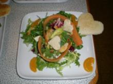 Mandarinen Salat - Rezept