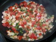 Nudeln - Spaghetti mit Garnelen / Shrimps - Rezept