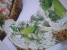 Ingwer-Kresse-Aufstrich - Rezept