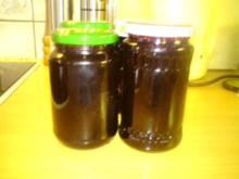 Johannisbeer-Maulbeer-Marmelade - Rezept