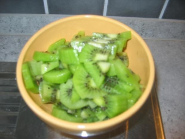 Kiwi- Johannisbeer-Stachelbeer-Marmelade - Rezept - Bild Nr. 7