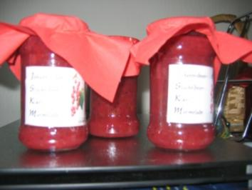 Rezept: Kiwi- Johannisbeer-Stachelbeer-Marmelade