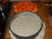 Marillen-Mohntorte mit Topfen - Rezept