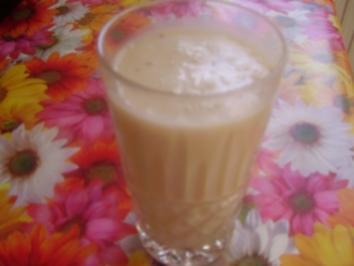 Bananenmilch - Rezept