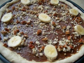 Pizza zum Dessert - Rezept