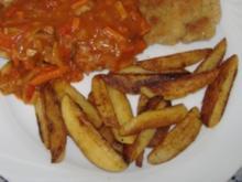 Schnitzel mit hausgemachter Zigeunersauce - Rezept
