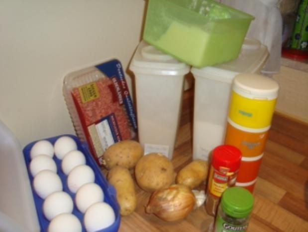 Abendbrot - Kartoffelbällchen mit Hackfleischfüllung - Rezept - Bild Nr. 3