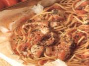 erster gang spaghetti in cartoccio - Rezept