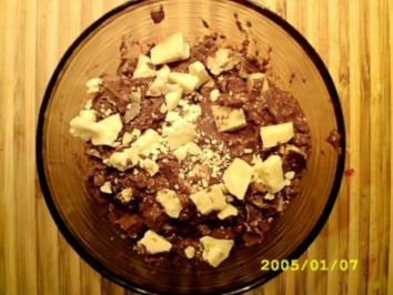 Mousse auch Chocolat Tricolor - Rezept