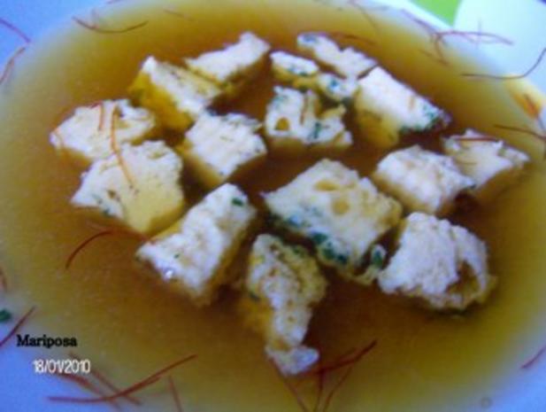 Eierstich als Suppeneinlage - Rezept - Bild Nr. 2