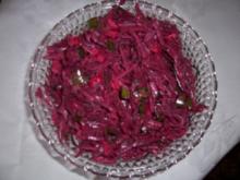Rote Beete Salat - Rezept