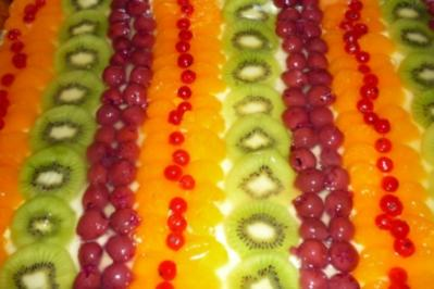 Frucht-Schnitten - Rezept