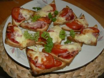 Pizzabrote - Rezept