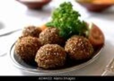 Knusprige Falafel - Rezept