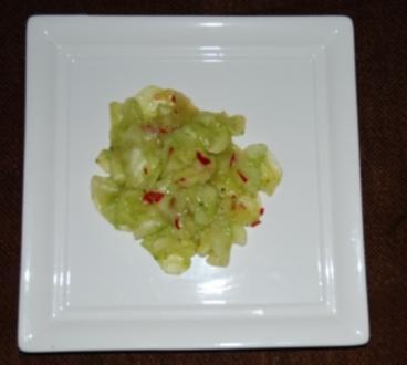 Gurkensalat mit Chili - Rezept