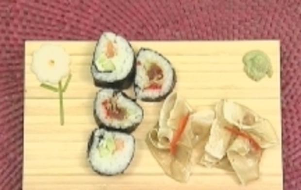 Futomakis, Frischkäse-Makis und Wan Tans - Rezept