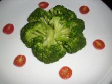 Brokkolisalat mit Gambas - Rezept