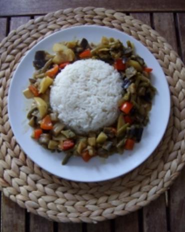 Curry-Gemüse-Pfanne - Rezept