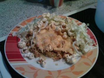 Kartoffel - Popcorn - Gratin - Rezept