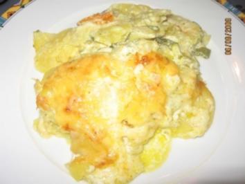Kartoffeln, Zucchini, Möhren Auflauf - Rezept