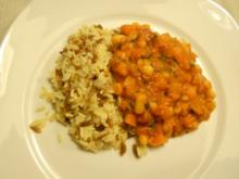 Kuru Fasulye weißer Bohnentopf in roter Soße Vegetarisch - Rezept