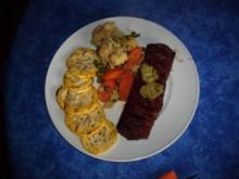 Lammnierstück mit frischem Gemüse - Rezept