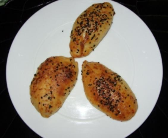 Griechische Kartoffel-Brötchen lecker belegt - Rezept - Bild Nr. 2