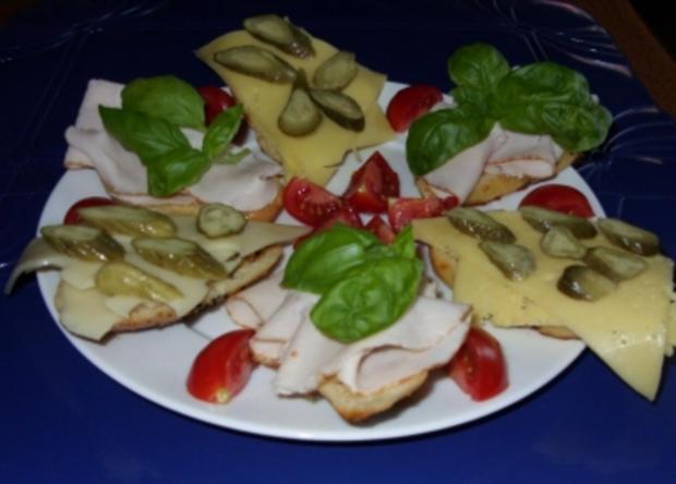 Griechische Kartoffel-Brötchen lecker belegt - Rezept - Bild Nr. 4
