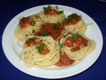 Spaghetti Napoli - Rezept