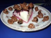 Leichtes Dessert mit Heidelbeersoße - Rezept